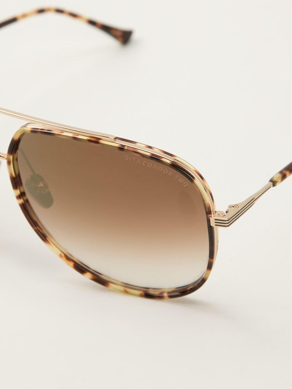 9557683a4ec Dita Condor Metal Aviator Sunglasses « Heritage Malta