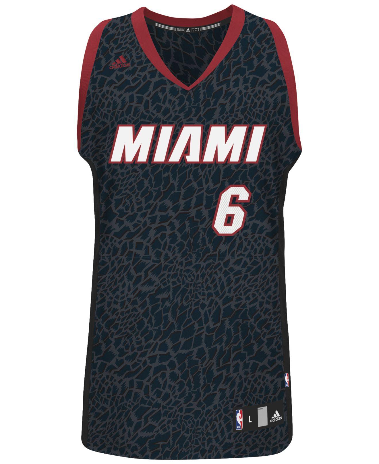 678d9df505c Lyst - adidas Men's Miami Heat Lebron James Crazy Light Jersey in ...