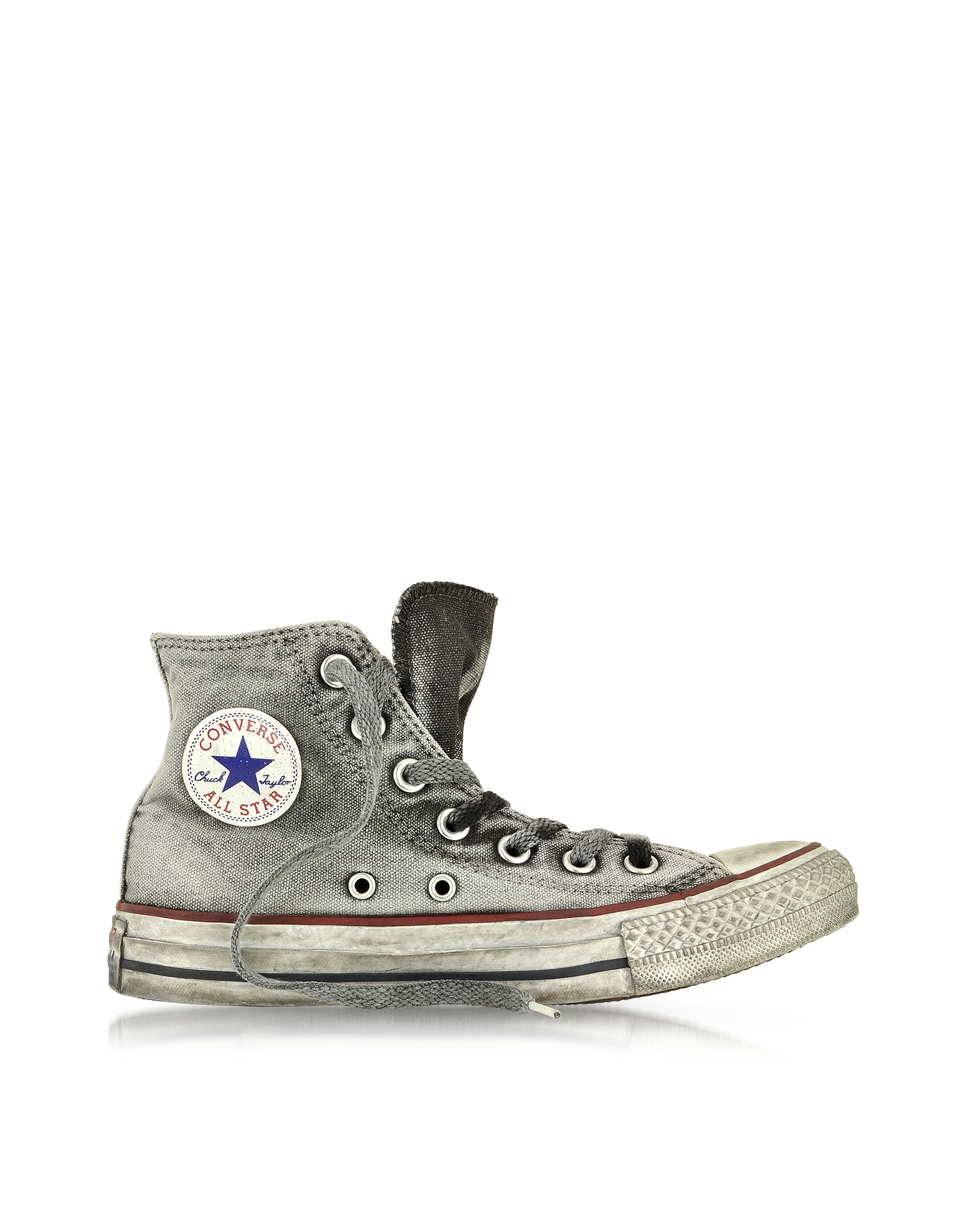 641fbea91dd2 Converse All Star High-Top Smoke Canvas Ltd Sneaker in Gray - Lyst