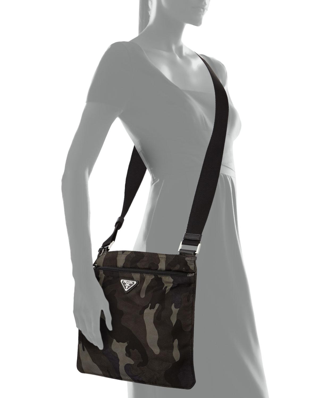 saffiano leather bag prada - prada wallet camouflage