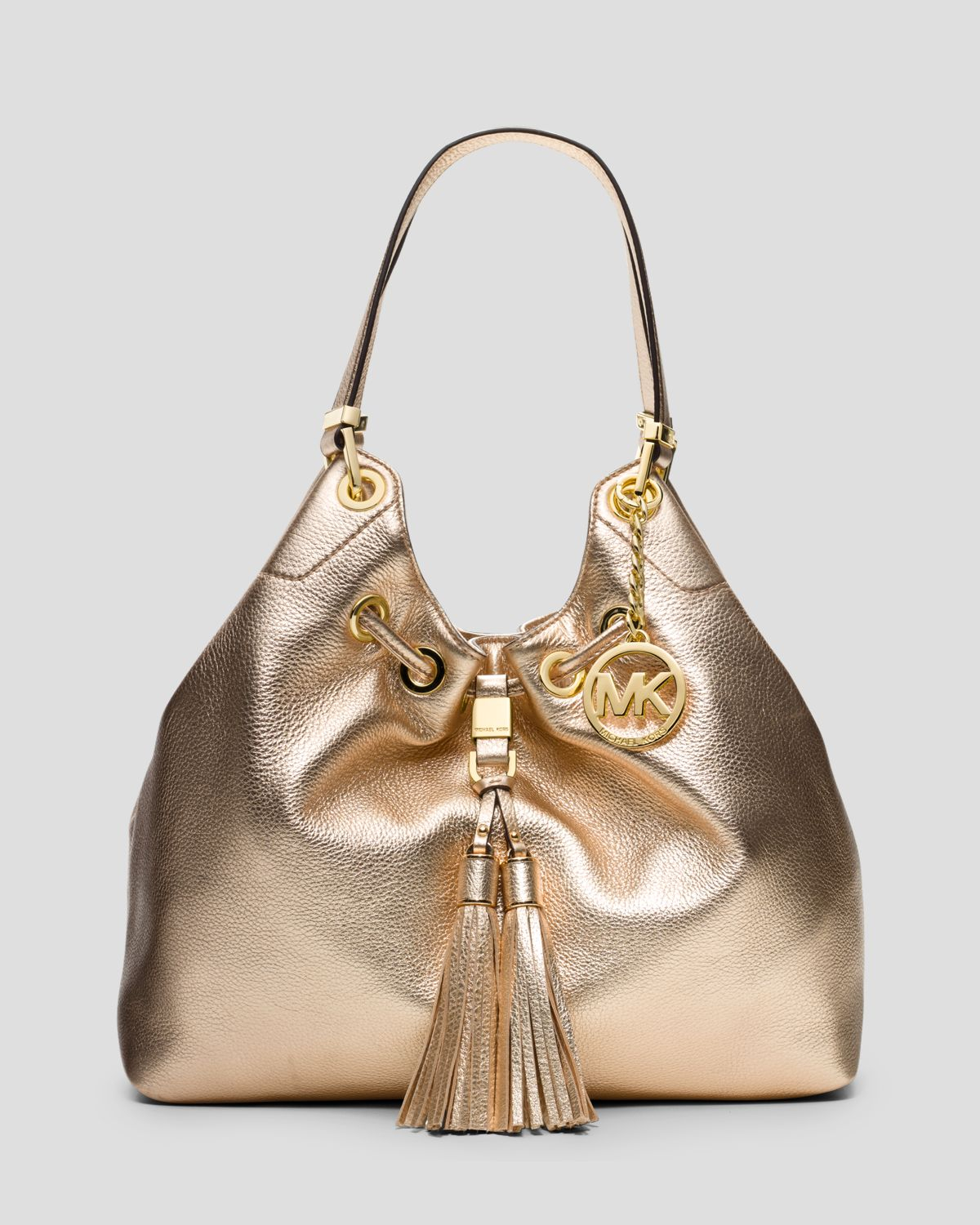 9ad894dd40c5e1 MICHAEL Michael Kors Tote Middleton Large Drawstring in Metallic - Lyst