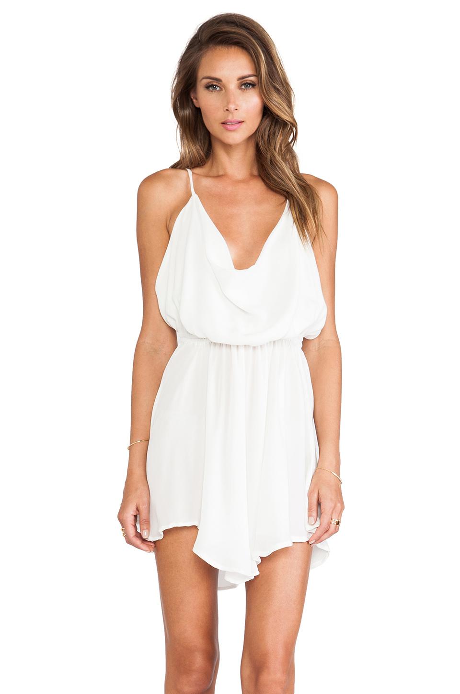 da8de60746 Lyst - Indah Tahani Cocktail Dress in White