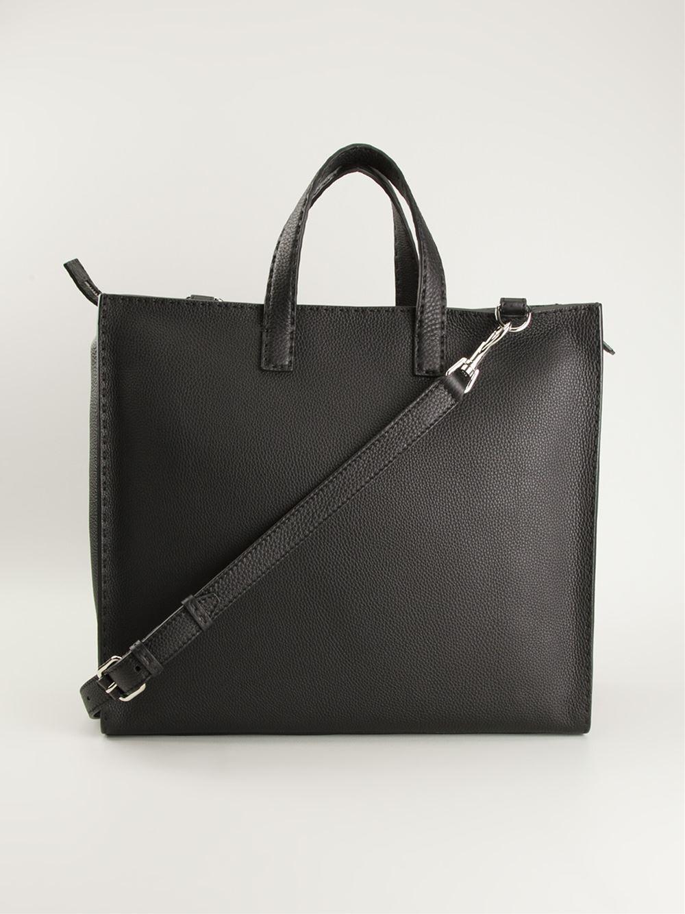 59b337481b3b ... low cost lyst fendi selleria tote in black for men 4ffd9 6b441