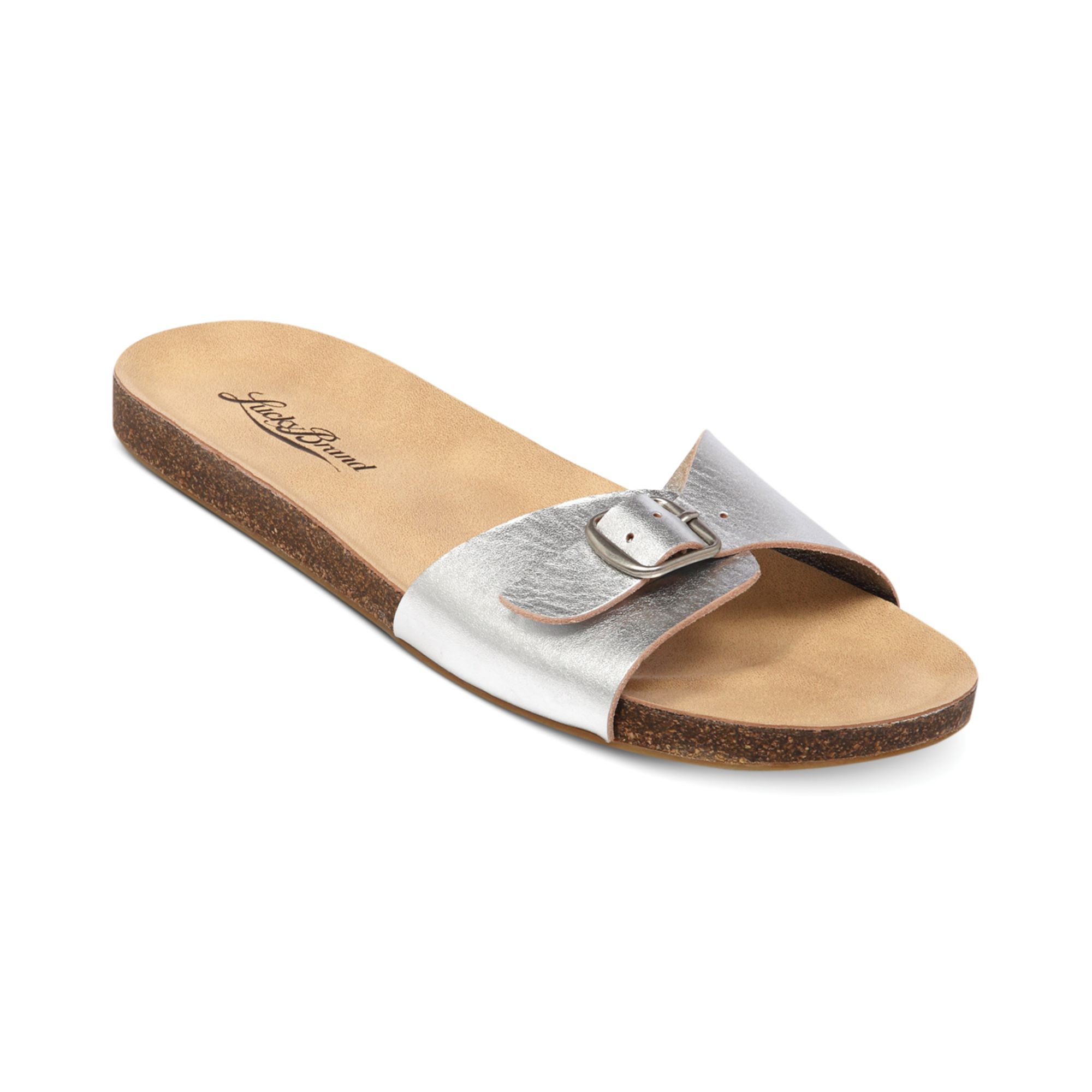 Womens slide on sandals