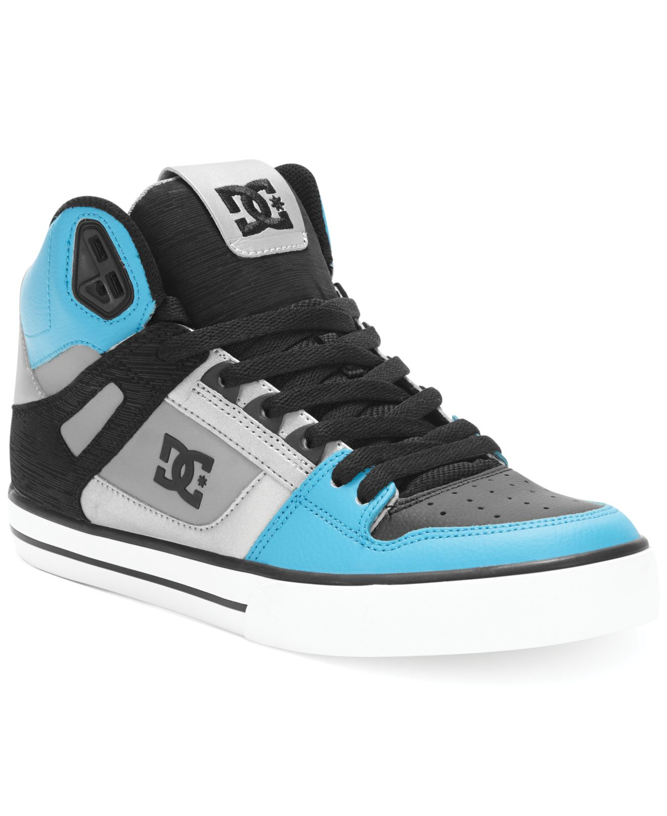 90f2323ec24848 Lyst - DC Shoes Spartan High Wc Sneakers in Blue for Men