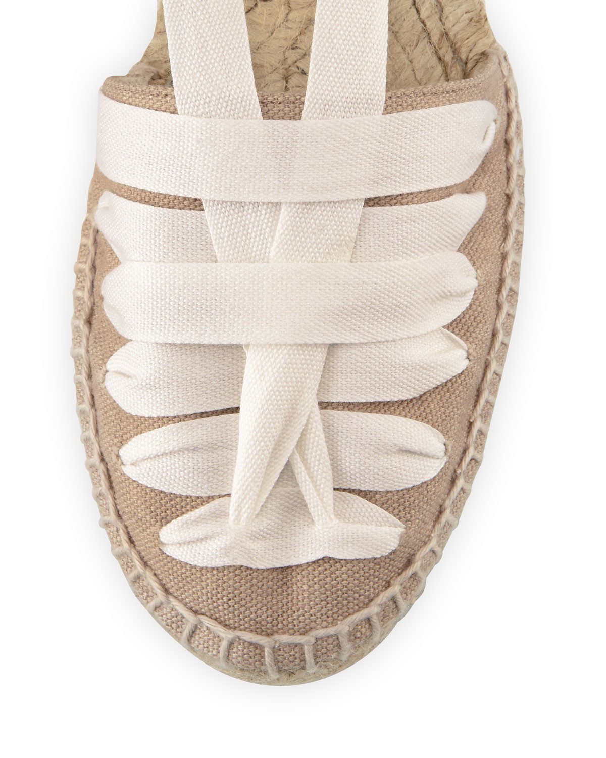 1777a6f87 Castaner Patty Flat Canvas Espadrille in White - Lyst