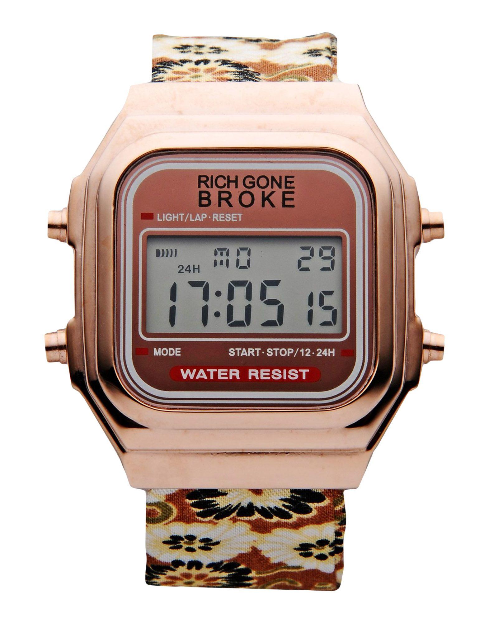 rich gone broke wrist watch in pink lyst. Black Bedroom Furniture Sets. Home Design Ideas