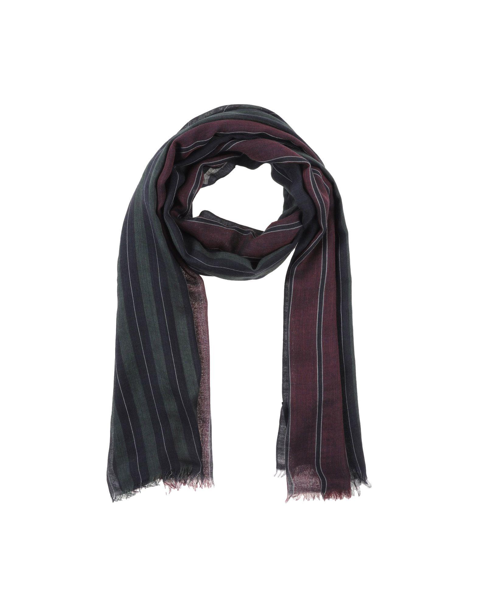 gucci oblong scarf in blue lyst