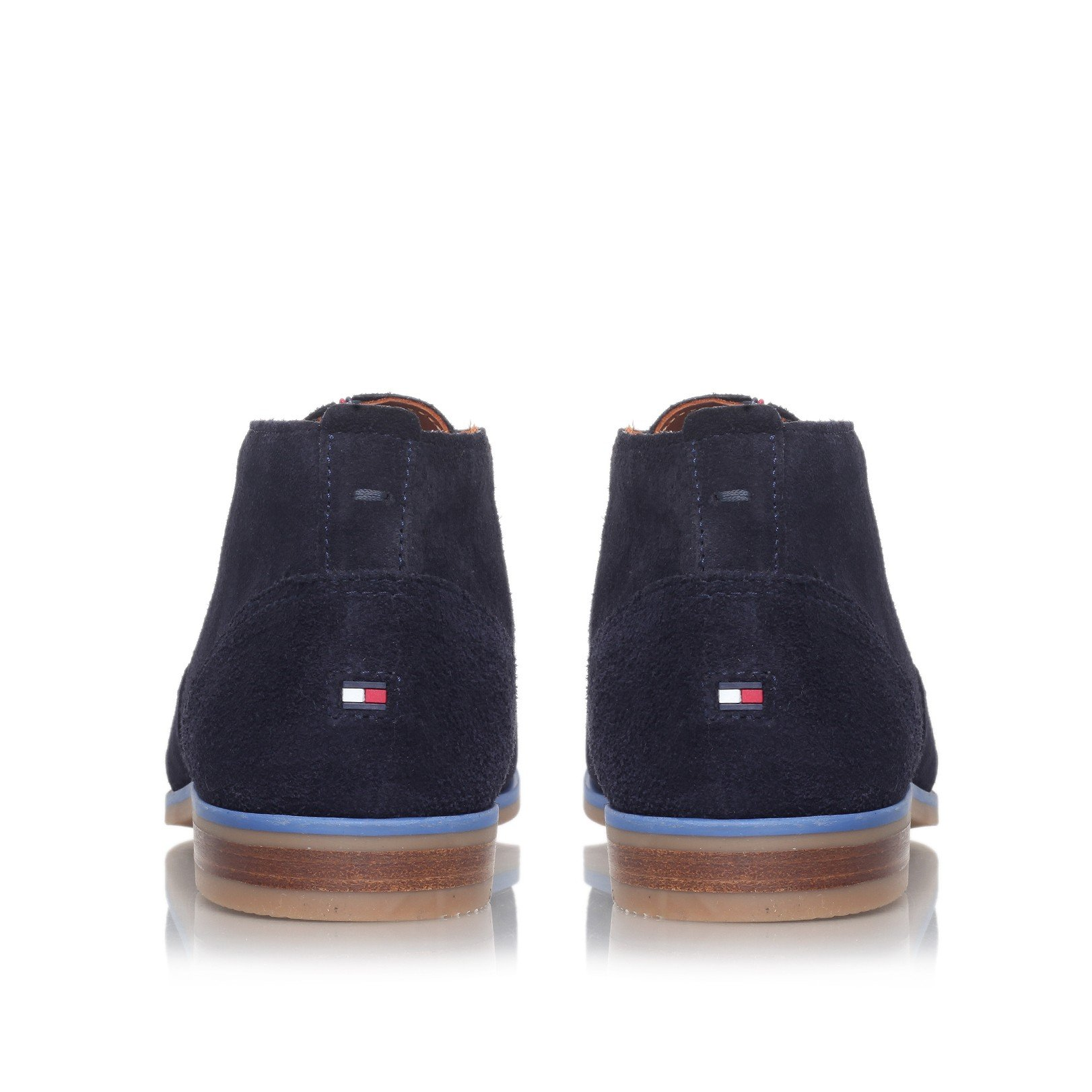 tommy hilfiger robert 2b desert boot in blue for men lyst. Black Bedroom Furniture Sets. Home Design Ideas