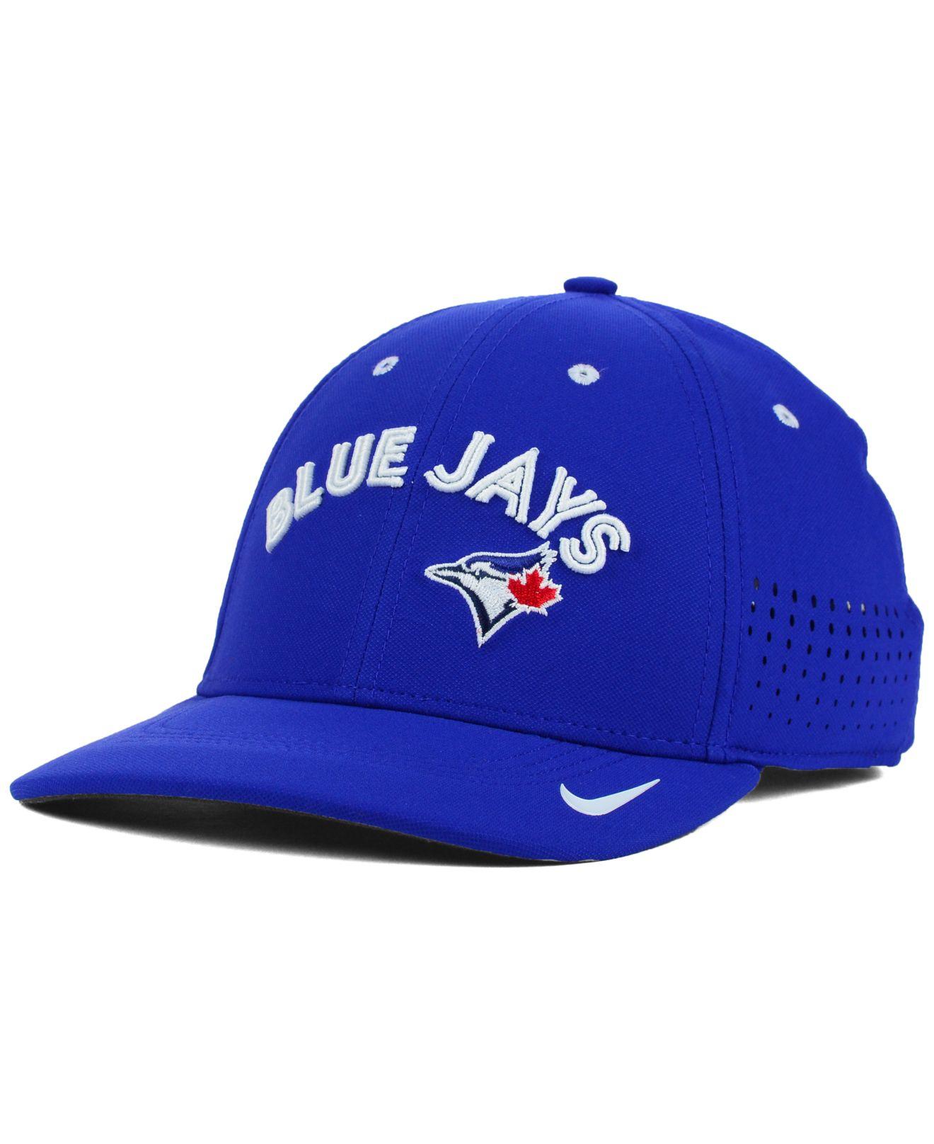save off ff323 14ad5 ... order lyst nike toronto blue jays vapor swoosh flex cap in blue for men  3c822 ae846