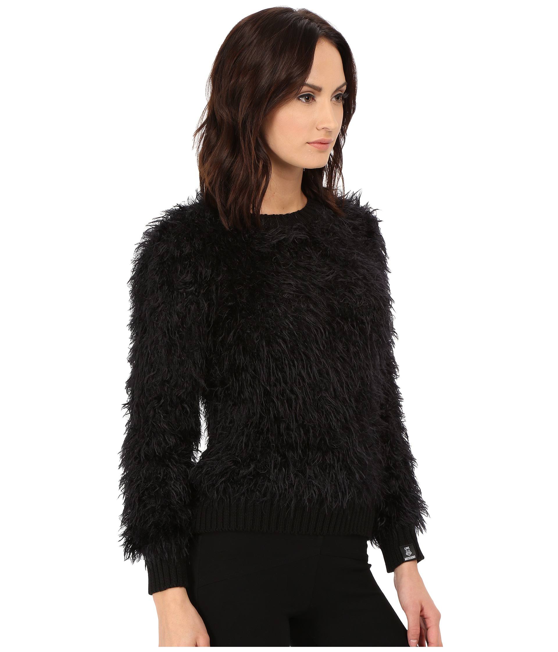 Wool Sweater Furry 82