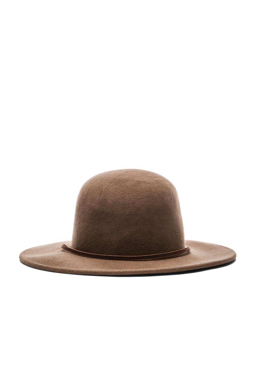 Lyst Brixton Tiller Hat In Brown For Men