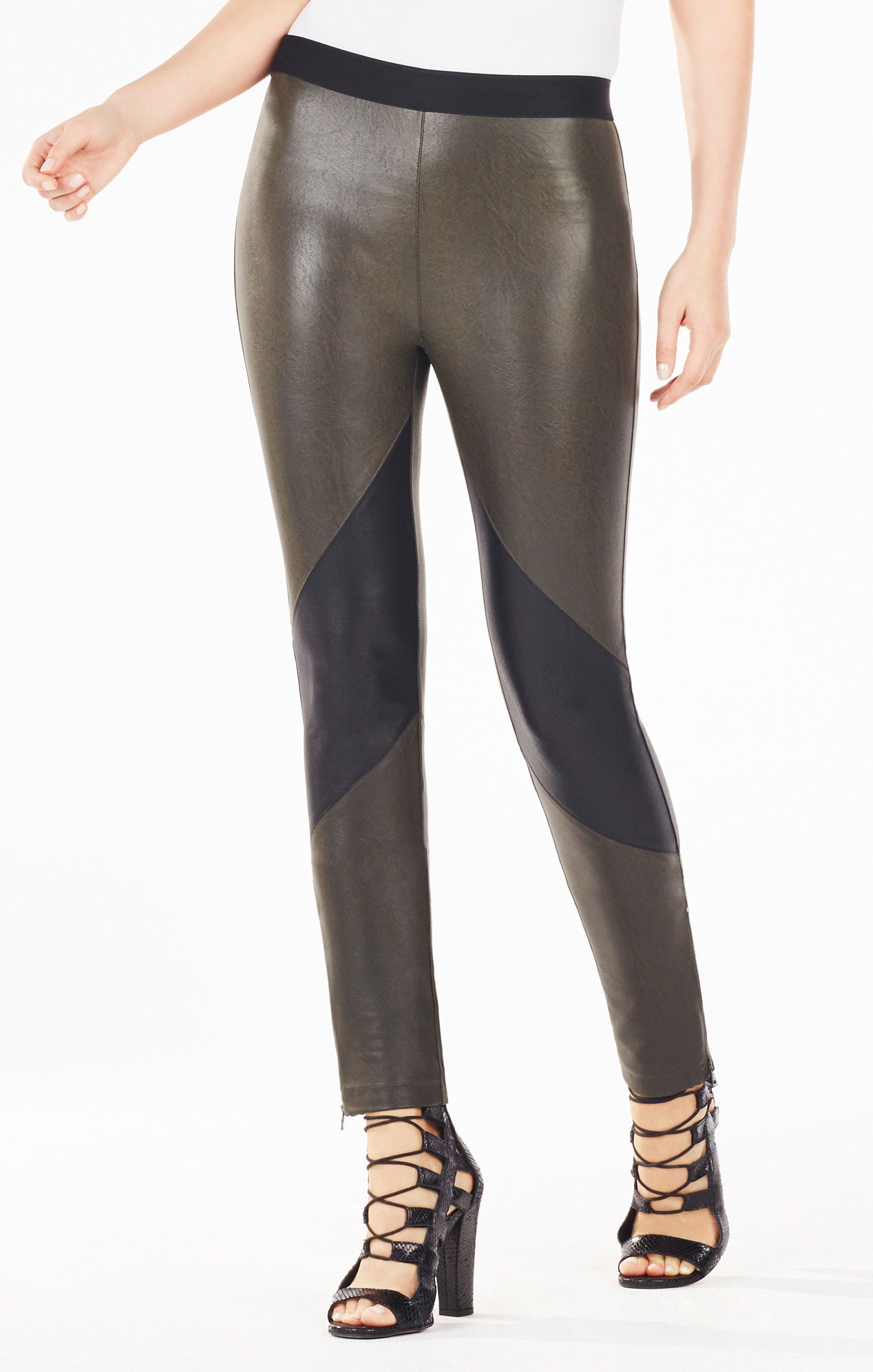 11a006ff19118c Gallery. Previously sold at: BCBGMAXAZRIA · Women's Faux Leather Pants  Women's Leather Leggings