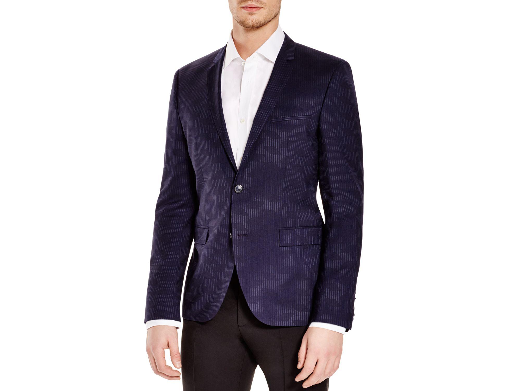 hugo boss blue sport coat. Black Bedroom Furniture Sets. Home Design Ideas