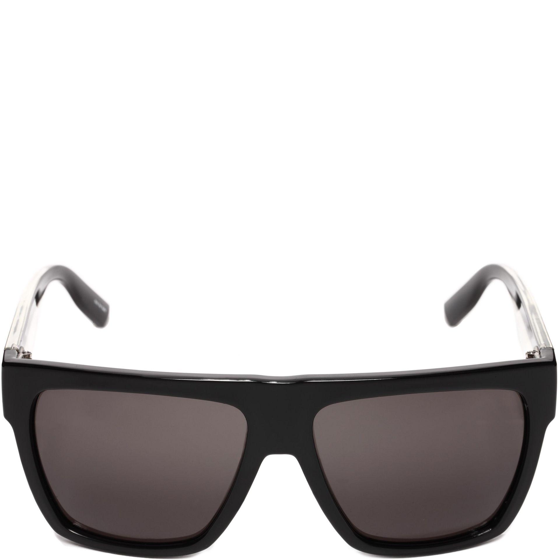 Mcq Sunglasses  mcq the jack black sunglasses in black lyst