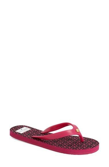 af50d071b3b Lyst - Kate Spade  foxy  Flip Flop in Pink