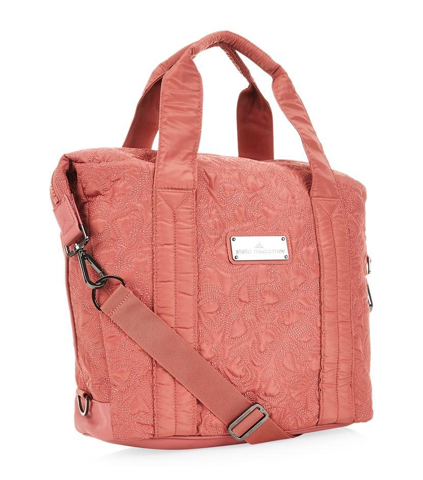 Adidas by stella mccartney Small Gym Bag in Pink