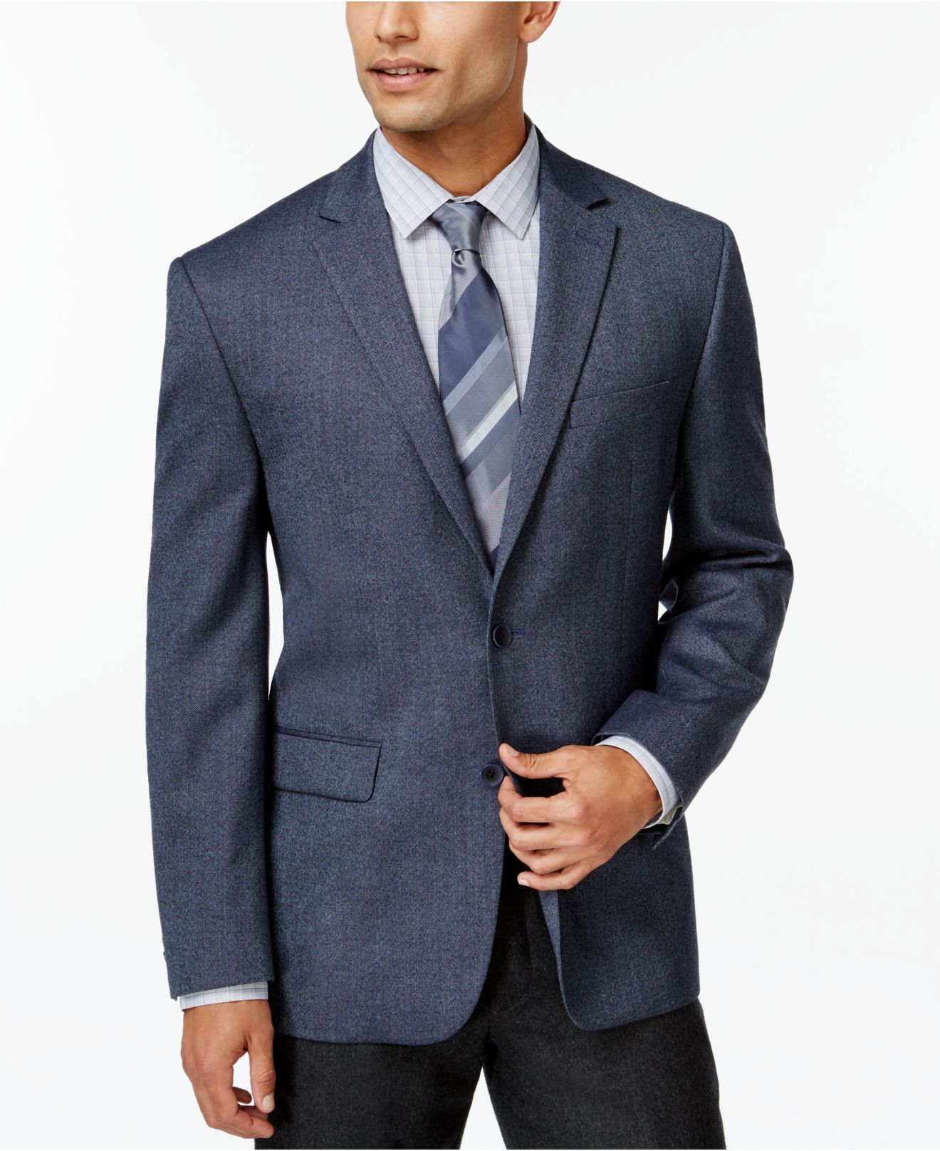 Slim Fit Sport Coat Photo Album - Reikian