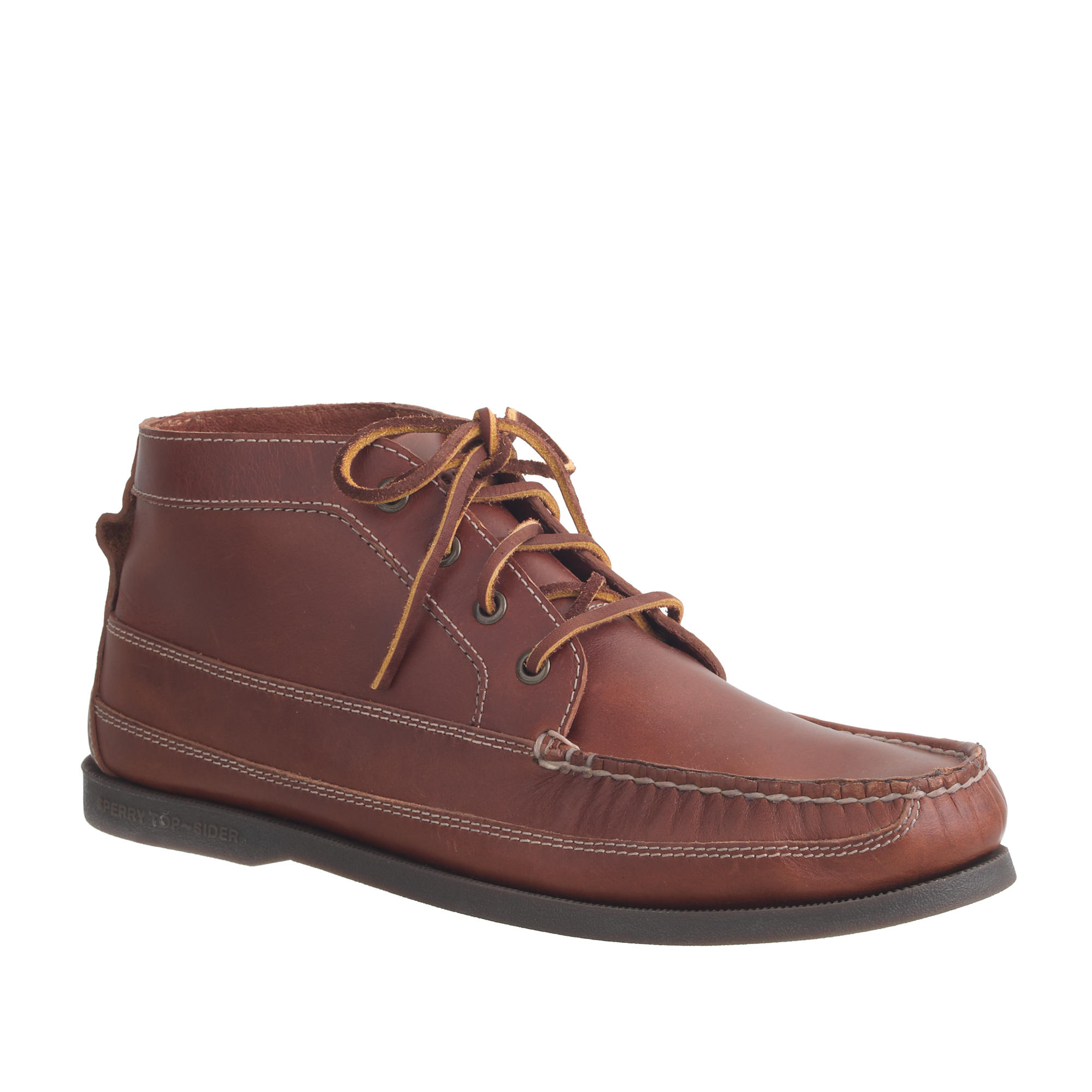 Sperry top-sider Men's Sperry Leather Chukka Boots in Brown for ...