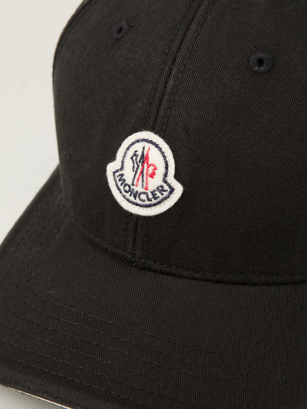 Lyst - Moncler Classic Baseball Cap in Blue for Men 662f90ac87a