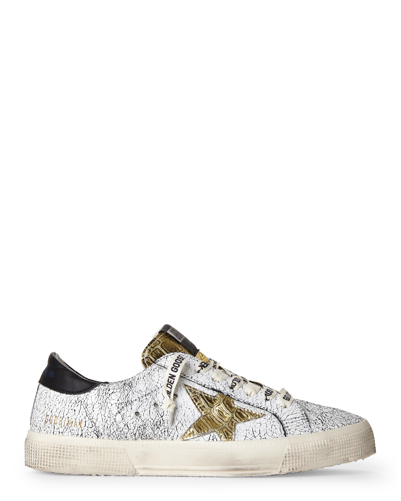 72e083dcda2b4 Lyst - Golden Goose Deluxe Brand Crackle May Sneakers in Metallic