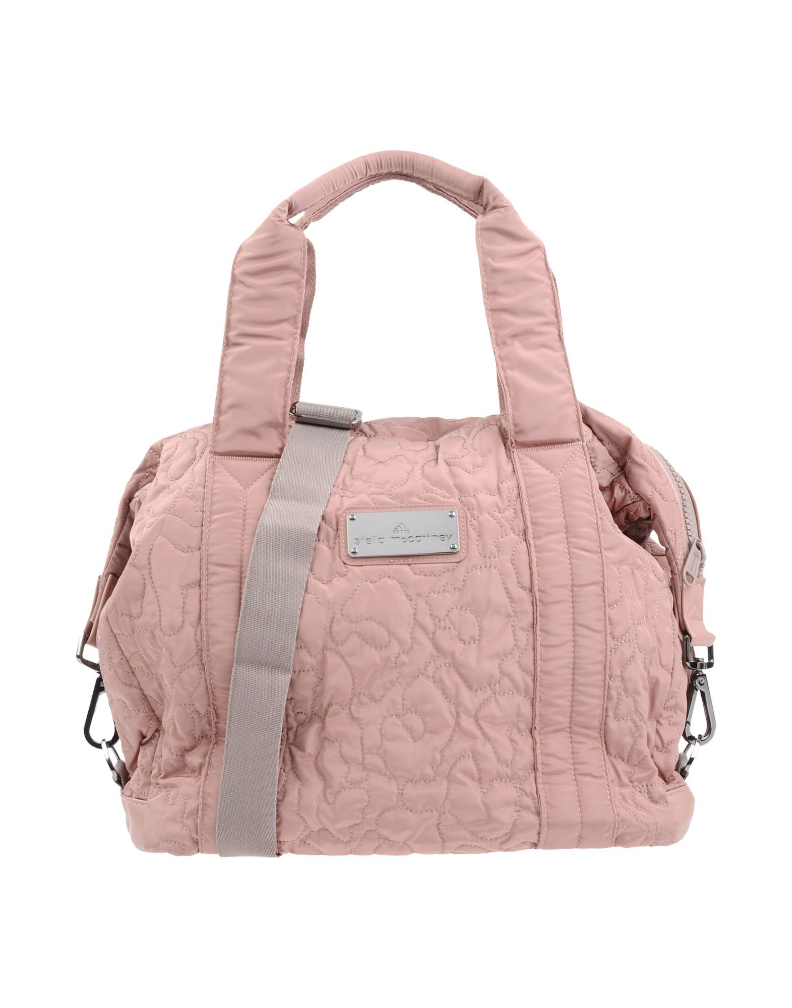 28cc1b35f728 Lyst - adidas By Stella McCartney Medium Quilted Gym Bag in Pink