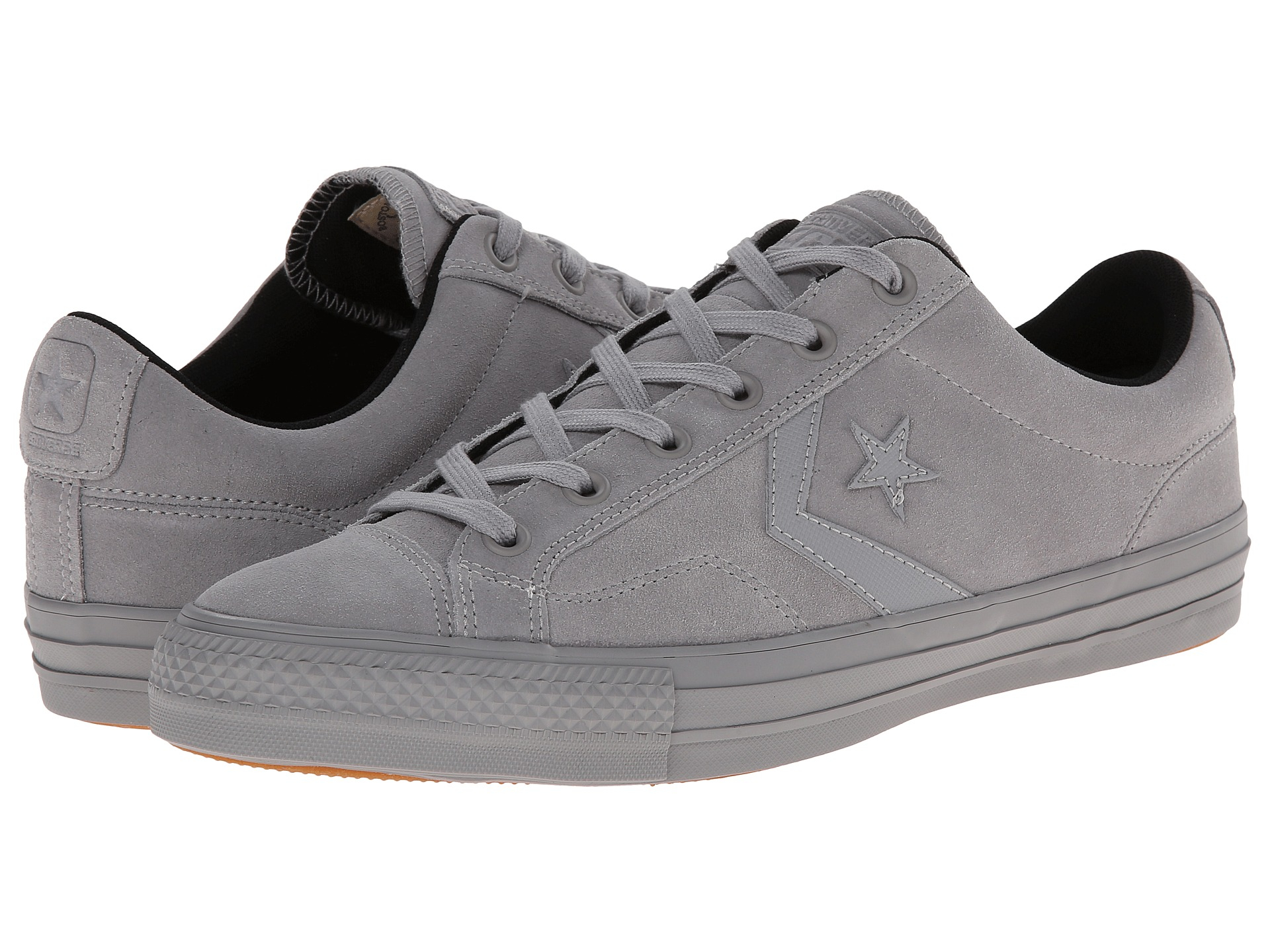 0bcc90e46d8 ... where to buy lyst converse star player pro suede in gray for men f75f6  ca084