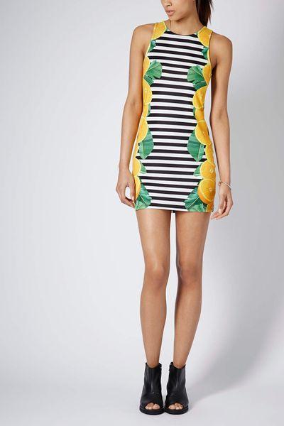 Topshop Lemon Stripe