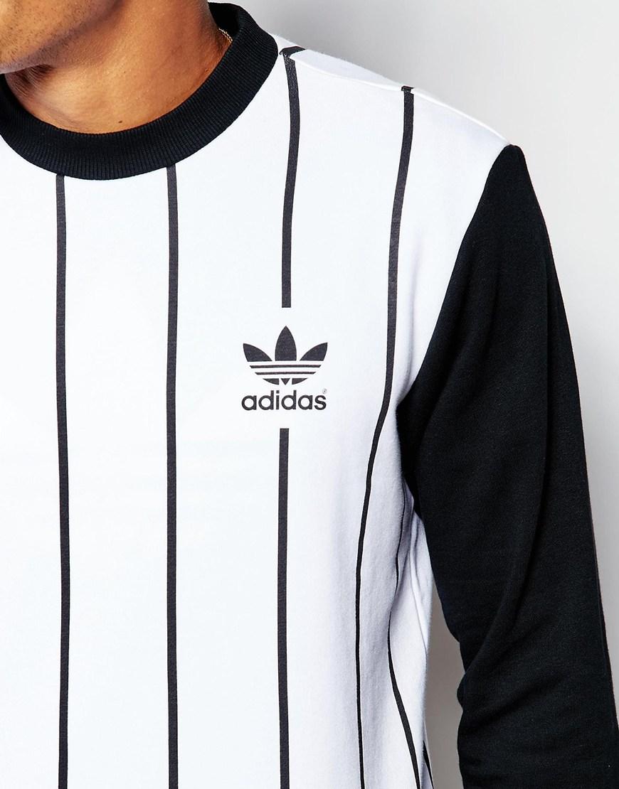 b8653247dd9d Lyst - adidas Originals Beckenbauer Sweatshirt With Back Print ...