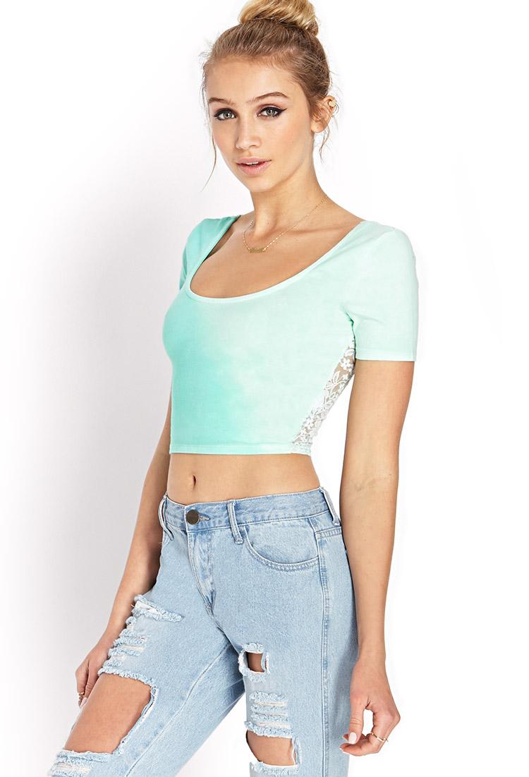 Fashion Concept Lace Top