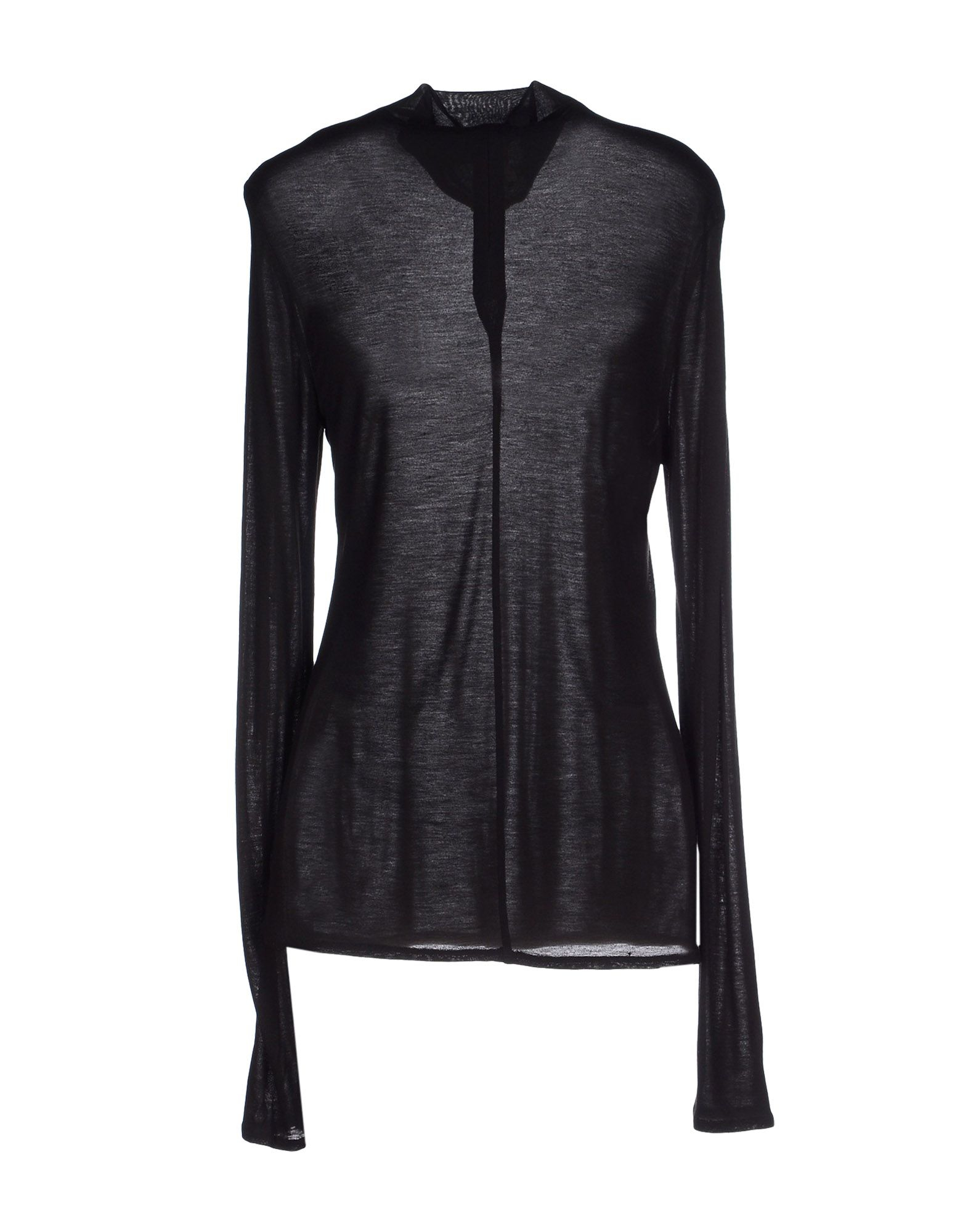 Lyst tory burch turtleneck in black for Tory burch fashion island