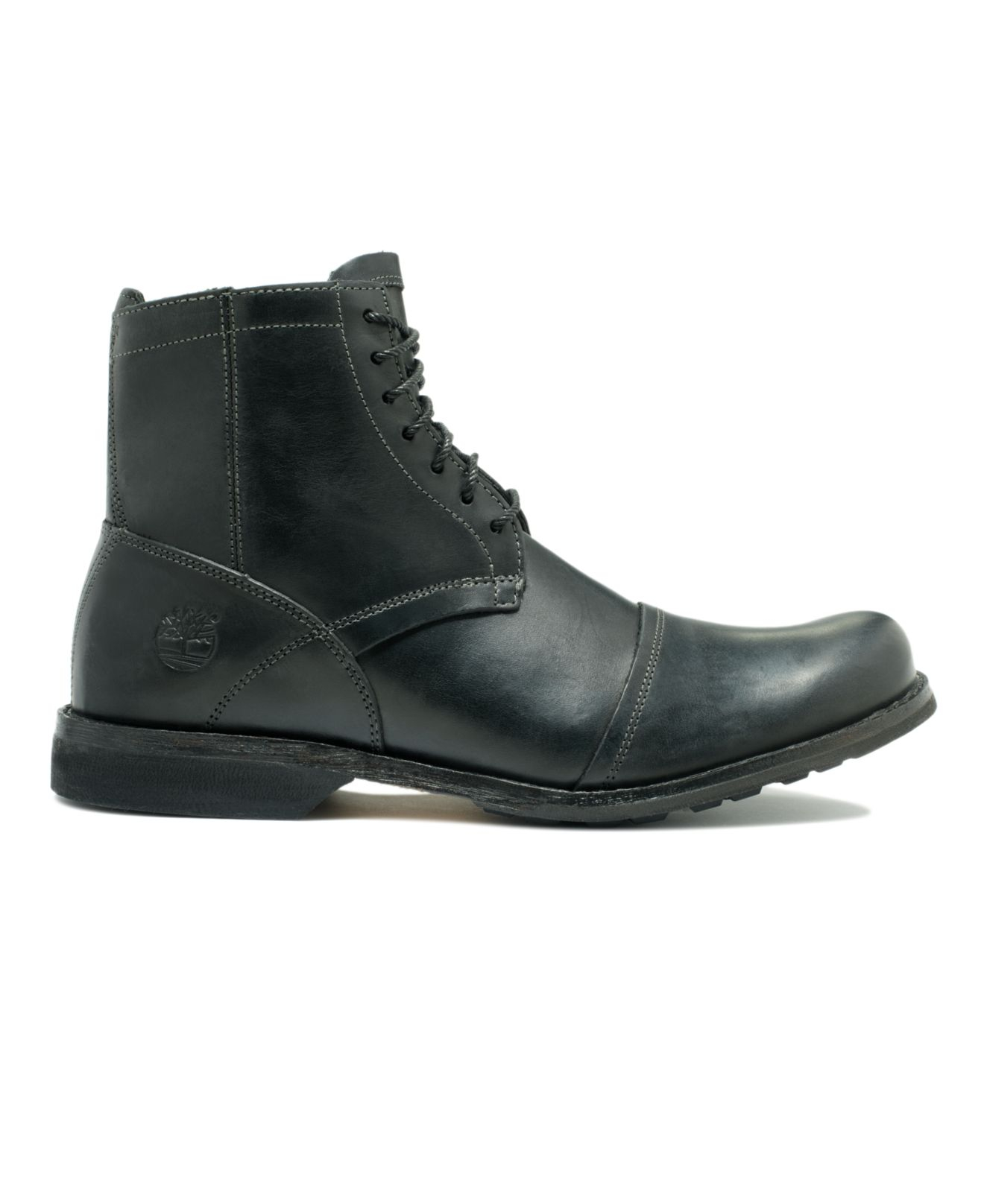 Lyst Timberland Earthkeepers 6 Quot Zippered Boots In Black
