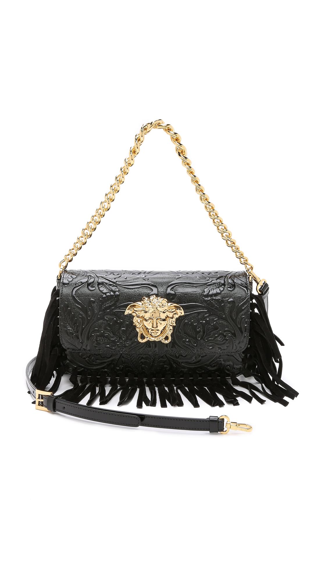 Versace Black Shoulder Bag 8