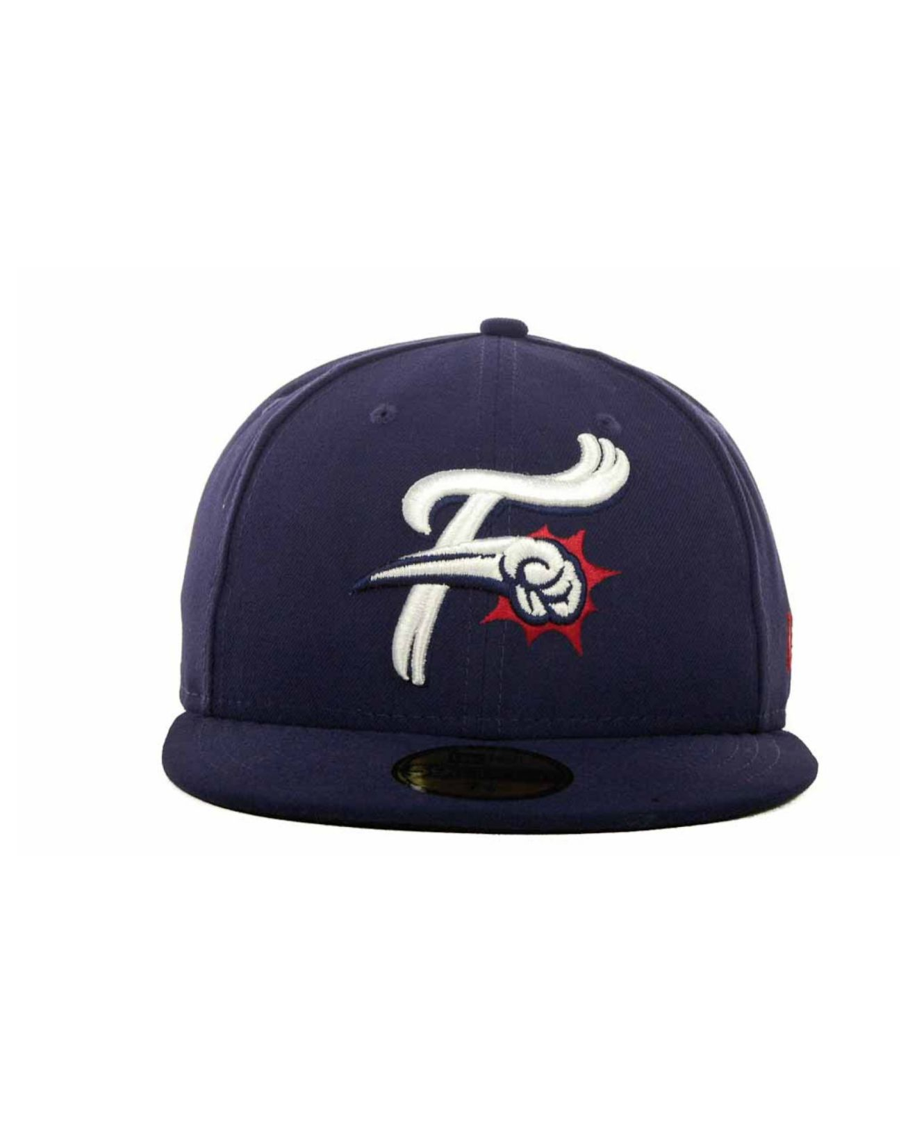 New Era Reading Phillies Milb 59fifty Cap In Blue For Men