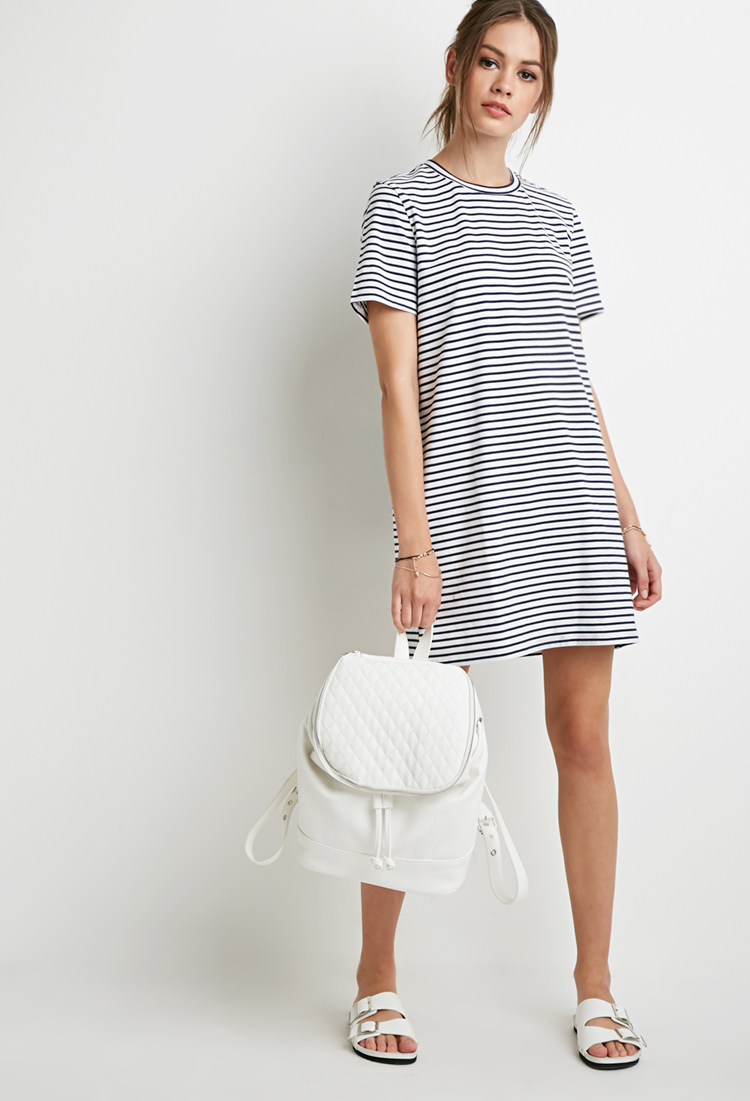 Navy blue and white striped shirt dress aztec sweater dress for White military dress shirt