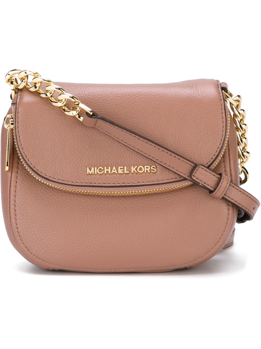 553e53a4a177 MICHAEL Michael Kors 'bedford' Crossbody Bag in Pink - Lyst