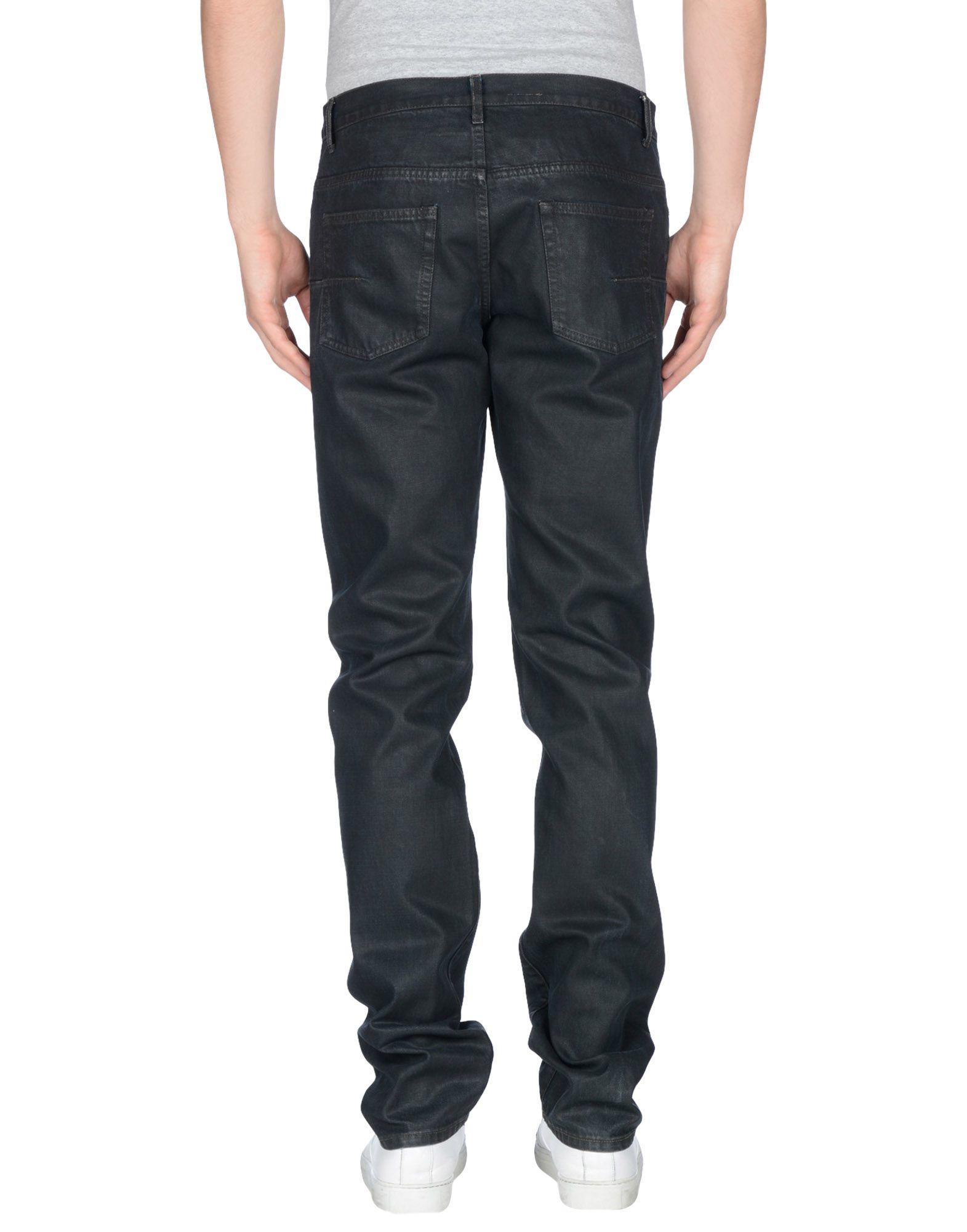 lyst dior homme denim pants in black for men. Black Bedroom Furniture Sets. Home Design Ideas