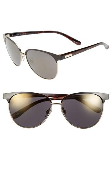 Cole Han Sunglasses  cole haan 59mm cat eye sunglasses bronze in metallic lyst