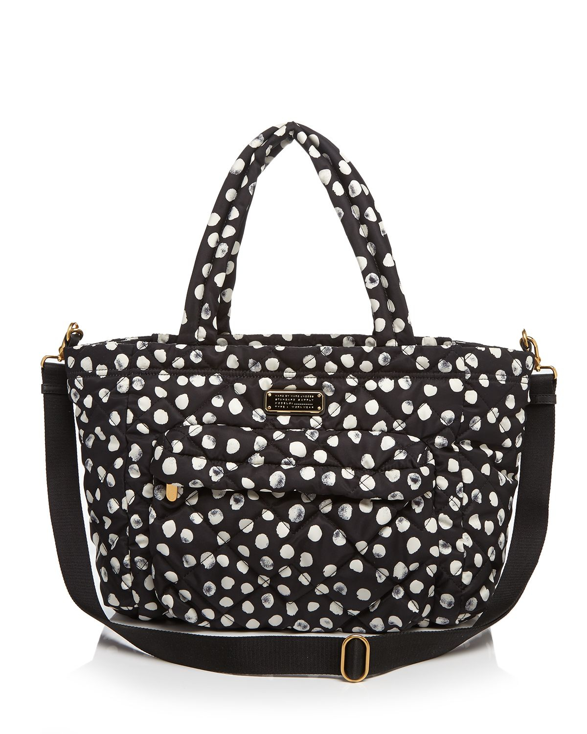 marc by marc jacobs diaper bag crosby quilt elizababy in black lyst. Black Bedroom Furniture Sets. Home Design Ideas