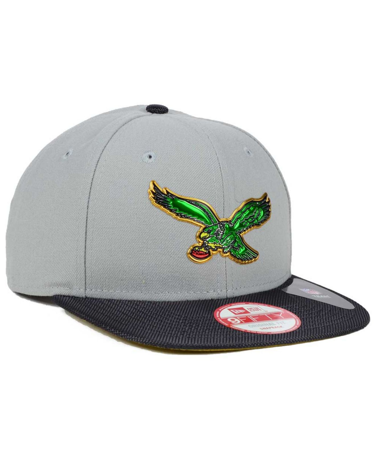 8508976270f Lyst - KTZ Philadelphia Eagles Gold Collection 9fifty Snapback Cap ...