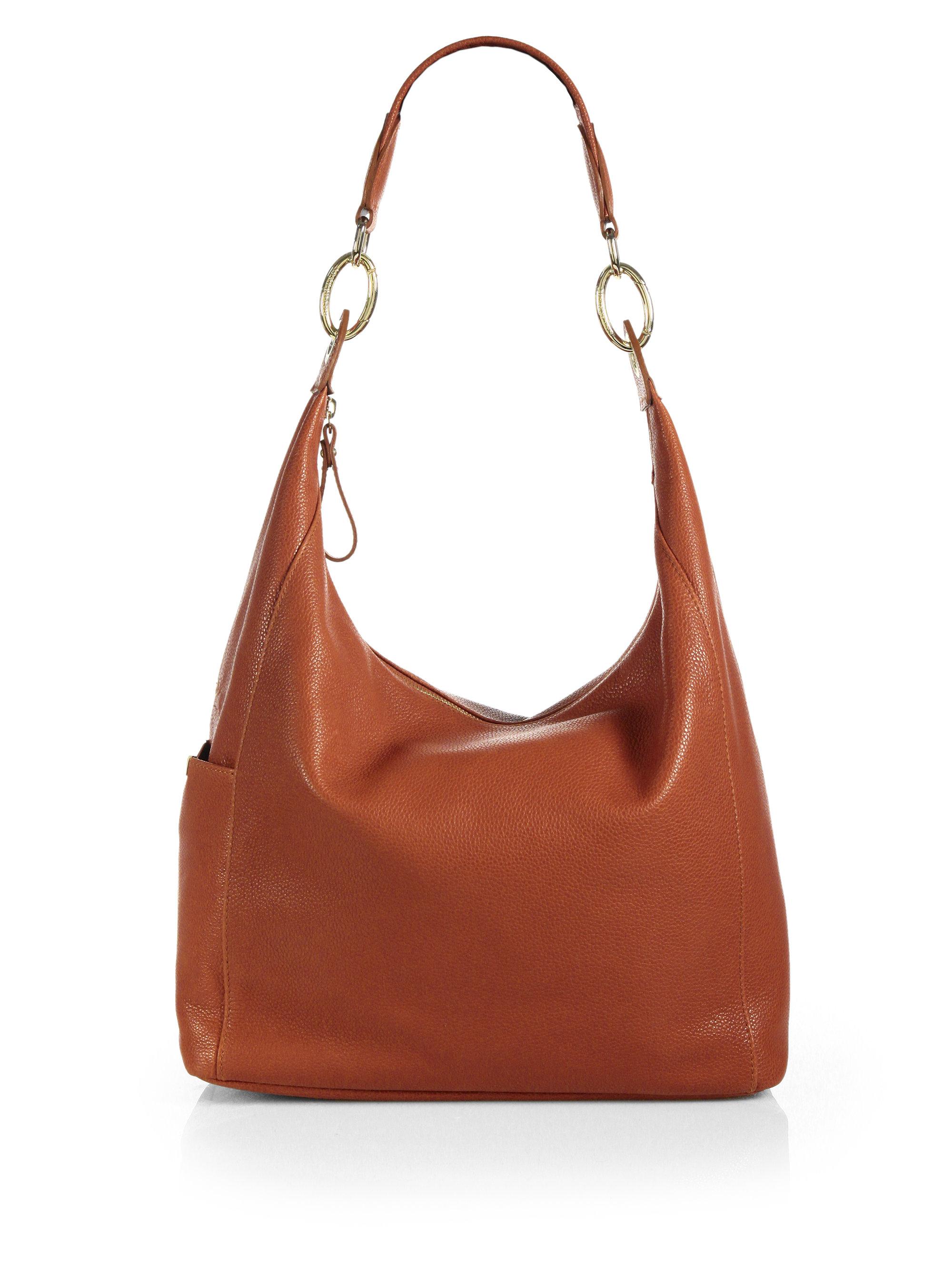 Longchamp Le Foulonn & #233 Hobo Bag in Brown | Lyst