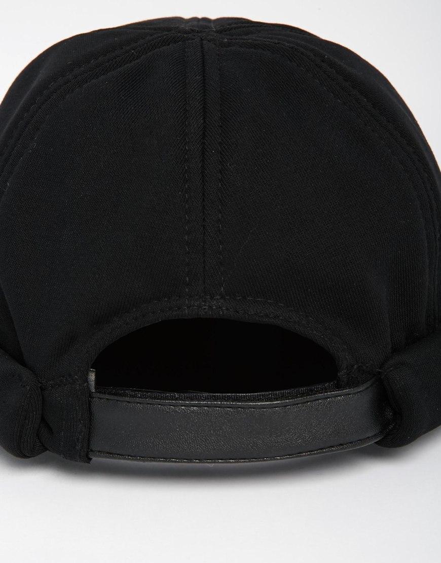 Lyst - ASOS Docker Beanie In Black in Black for Men d32ba7f2054