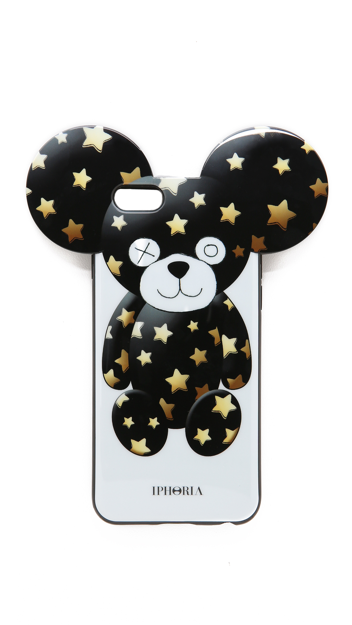 lyst iphoria sparkle bear iphone 6 6s case in black. Black Bedroom Furniture Sets. Home Design Ideas