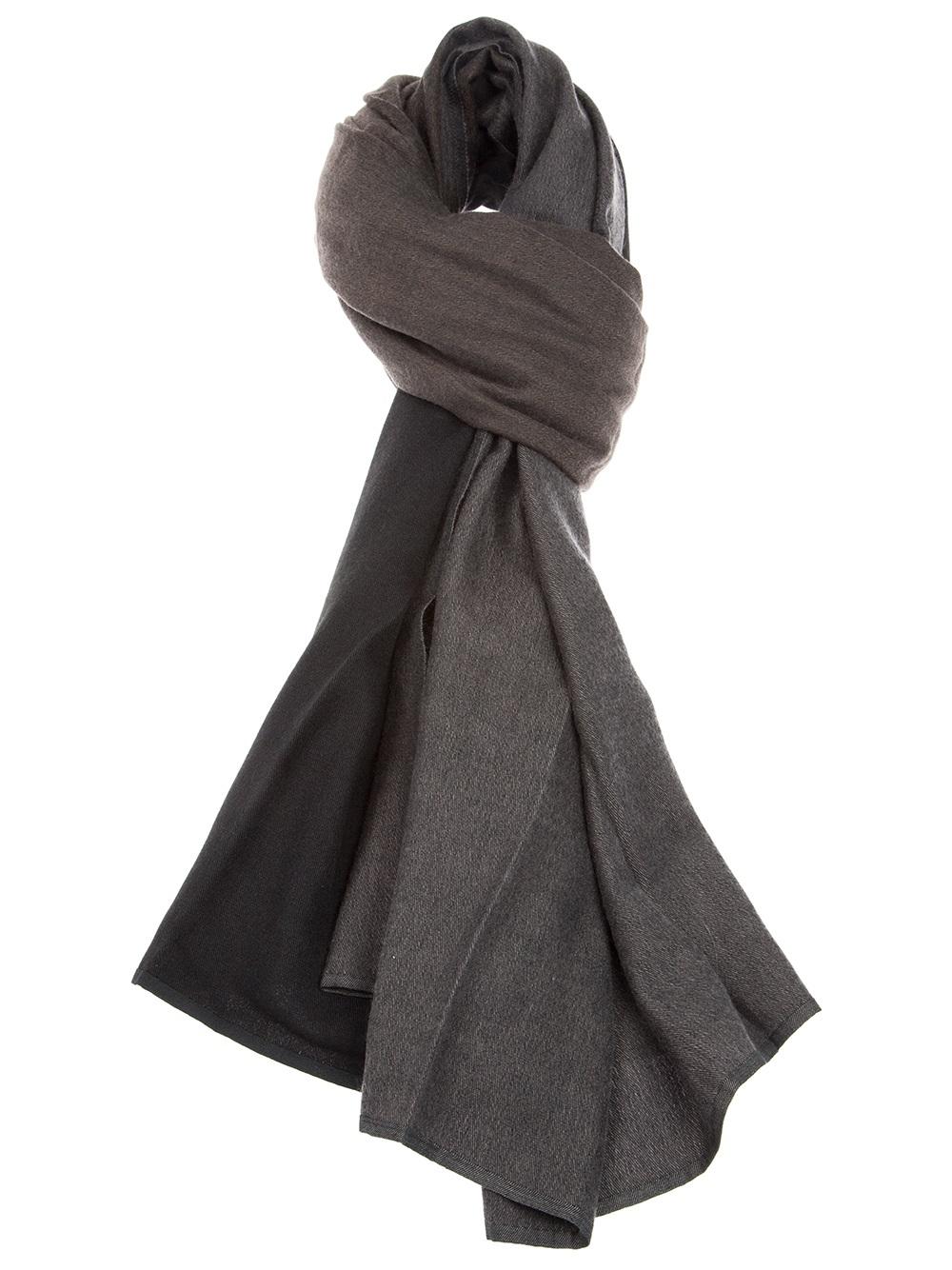 7f7f301fae Lyst - Denis Colomb Twotone Blanket in Black for Men