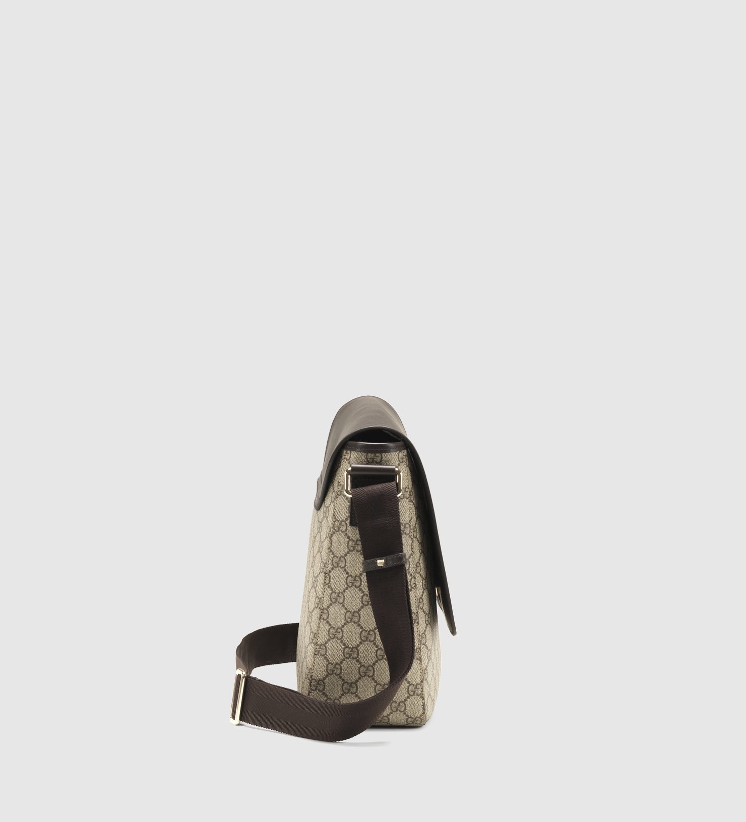 9332cfa8d48 Lyst - Gucci Gg Supreme Canvas Messenger Bag in Brown