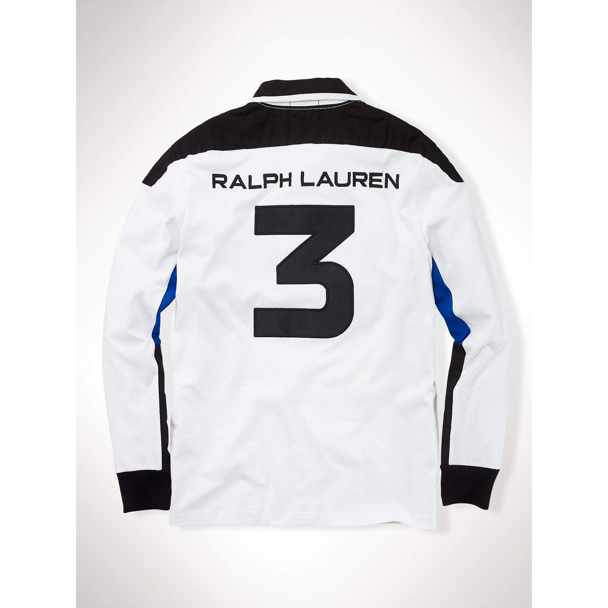 8f1dfb56582 ... cheap lyst polo ralph lauren custom fit usa rugby in white for men  d77b0 c6ccb