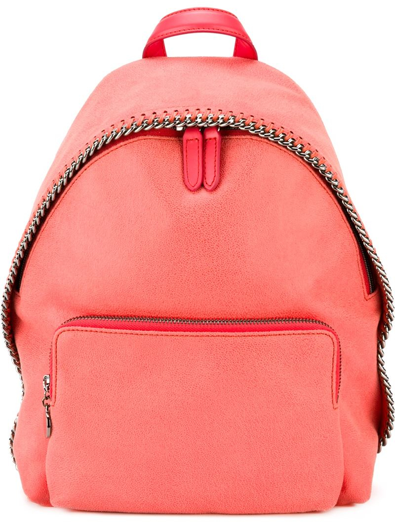 stella mccartney 39 falabella 39 backpack in pink lyst. Black Bedroom Furniture Sets. Home Design Ideas