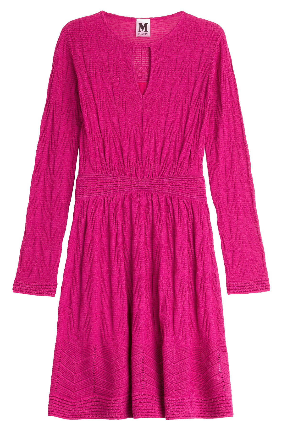 M missoni Knitted Dress With Wool - Pink in Pink Lyst