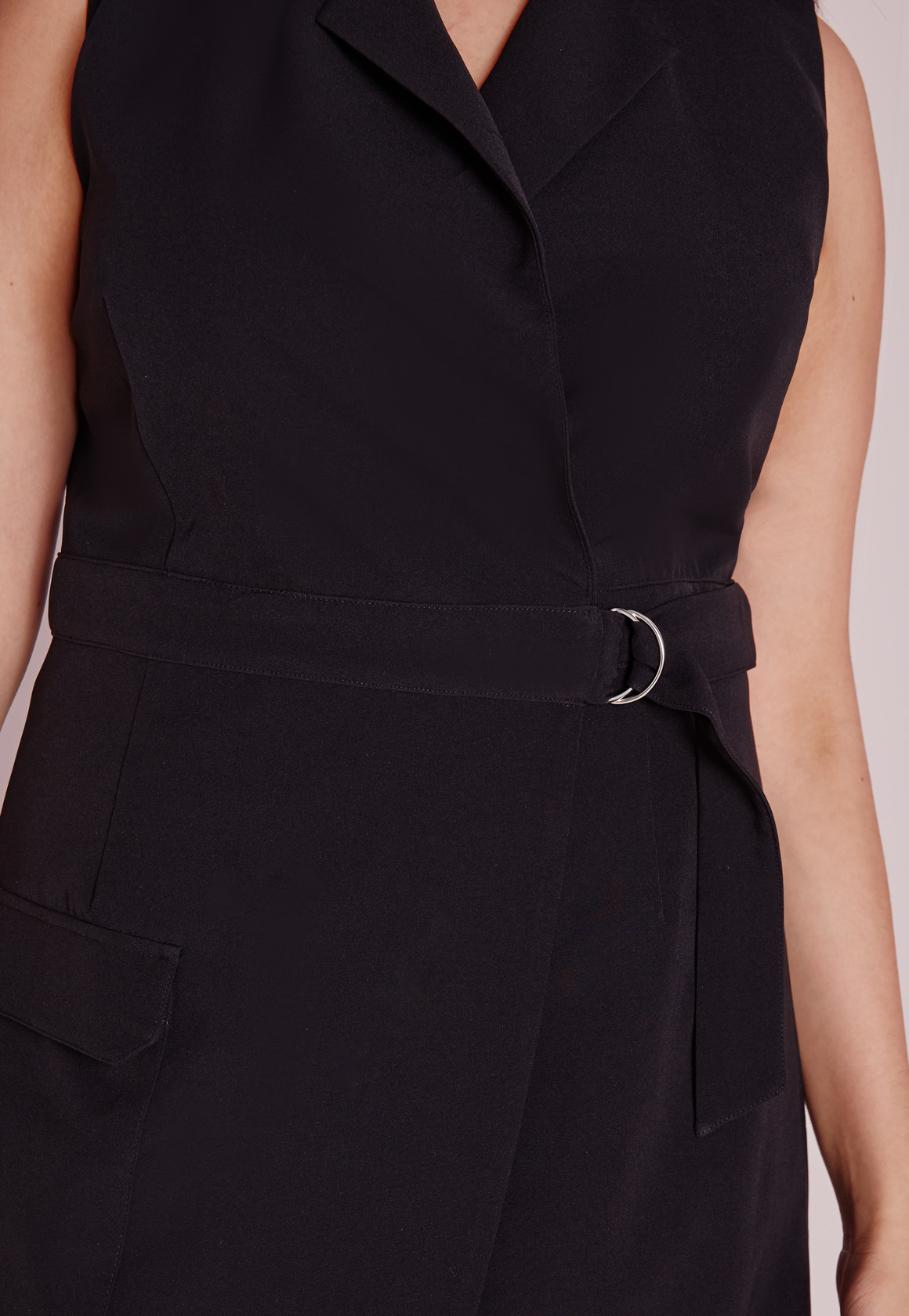 Black cocktail dress size 0 rings