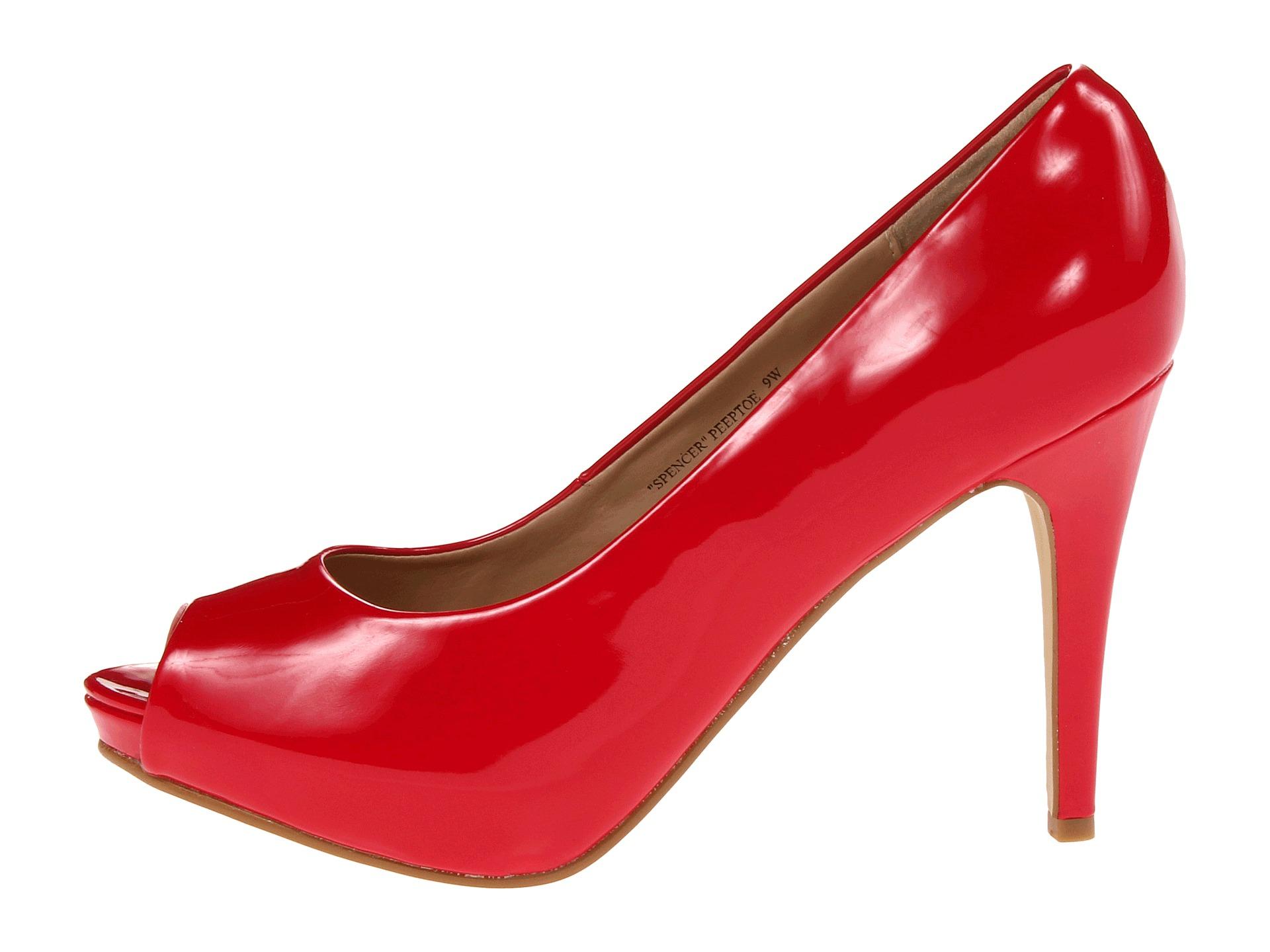 980243c9c59f Lyst - Rsvp Spencer Peep Toe Pump in Red